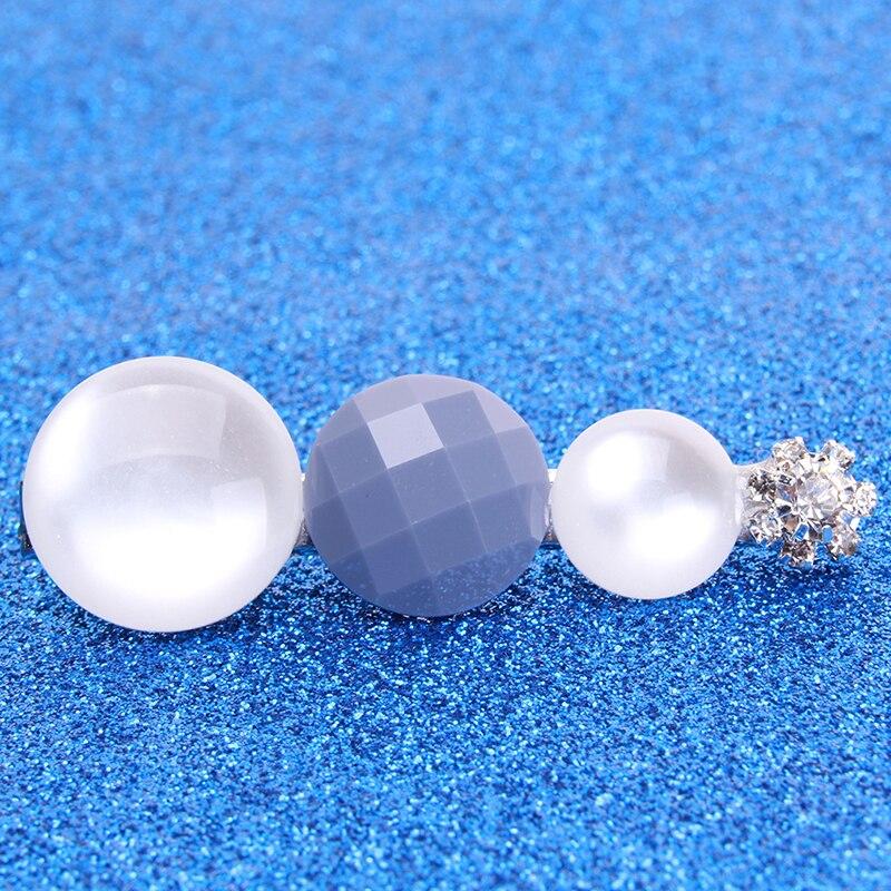Модные Винтажные хрустальные геометрические круглые заколки для волос, элегантные вечерние заколки для волос на свадьбу, обручение