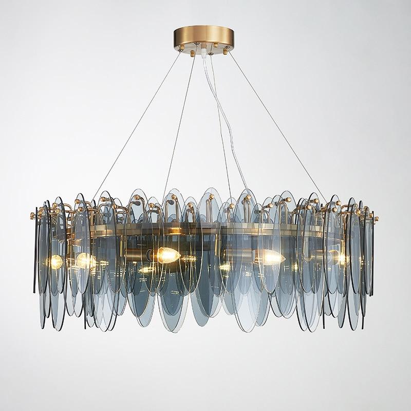 Modern Hanglamp  Hanging Ceiling Lamps Iron  Living Room   Home Decoration E27 Light Fixture Lustre Pendente Luminaire Suspendu