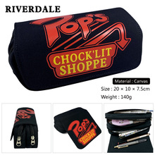 Riverdale Cosplay Pencil Bags Student School Stationery Bag