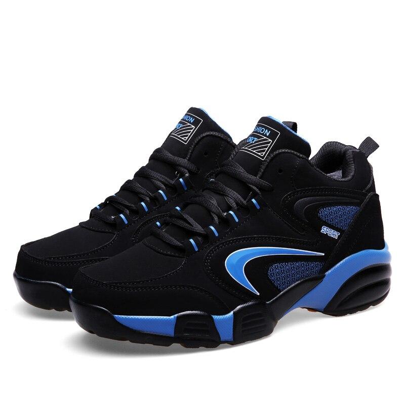 2019 hommes femmes hiver thermique Sport chaussures marques chaud course chaussures noir fourrure Sport formateurs en cuir athlétique baskets hommes