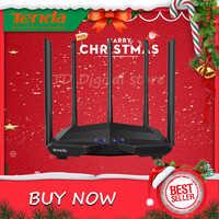 Tenda AC11 AC1200M Senza Fili Wifi Router con 2.4G/5.0G Antenna Ad Alto Guadagno Copertura a Casa Dual Band Wireless router, app di Controllo