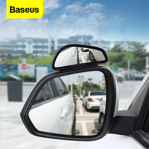 Baseus 2pcs Car Rear View Mirror Waterproof 360 Degree Wide Anger Parking Assitant Auto Rearview Safety Blind Spot Mirrors