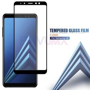 200D Защитное стекло для Samsung Galaxy A3 A5 A7 J3 J5 J7 2017 стекло A6 A8 J4 J6 плюс J2 J8 A9 2018 Экран Защитная плёнка чехол