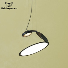 Modern Living Room LED Pendant Lights Nordic Creative Industrial Black Home Decor Pendant Lamp Bar Cafe House Light Fixtures