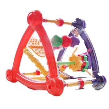 Para bebé de 0 a 12 meses, Cubo de actividades, juguetes educativos para el desarrollo infantil, juguete sonajero para recién nacido, niño, niña