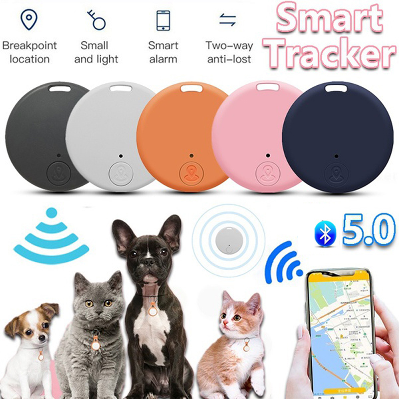 Tracker Anti-lost Alarm Mini Wireless Bluetooth-compat Tracker Car Child Older Bag Wallet Key Finder Locator Anti Lost Alarm