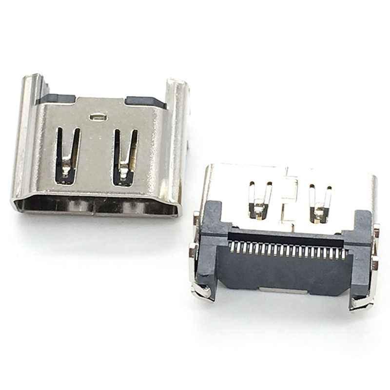 10 Uds conector de puerto HDMI conector repuesto nuevo parte para Playstation 4 PS4