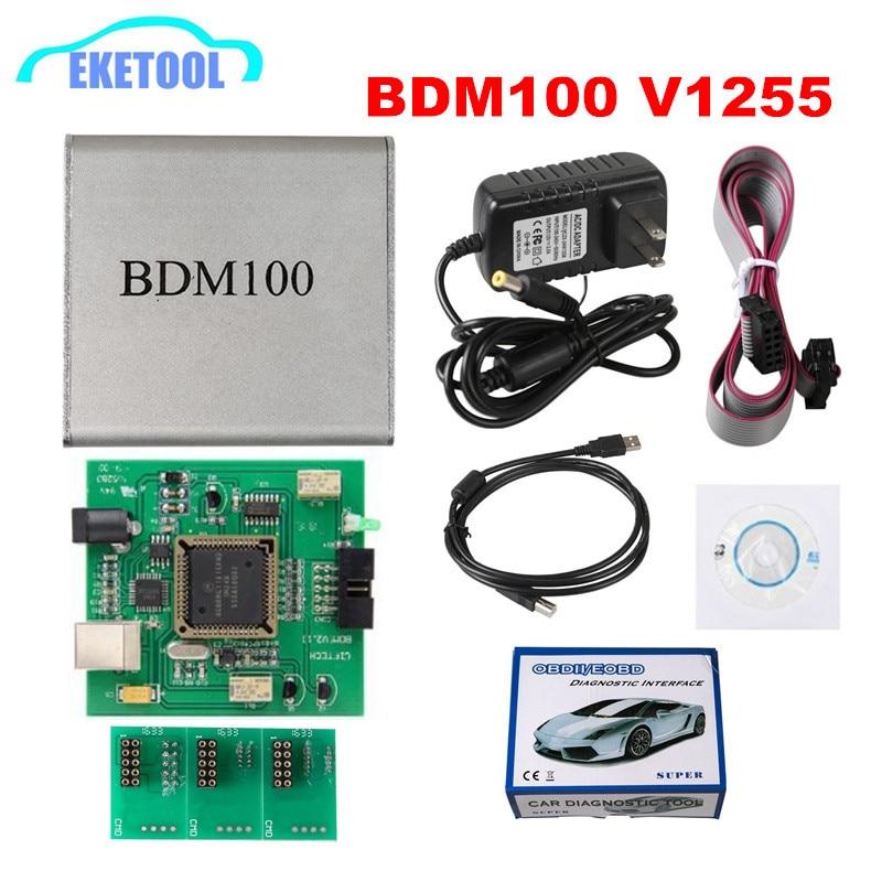 Best Quality BDM100 V1255 Programmer ECU Chip Tuning BDM 100 Code Reader Remapping LED BDM Frame LED 4pcs Probe Pens BDM Probe