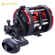 Reels-Dtr-30 Fishing-Reel Drum Trolling Max Drag Sougayilang 28kg-Pesca 1BB Left/right-Hand