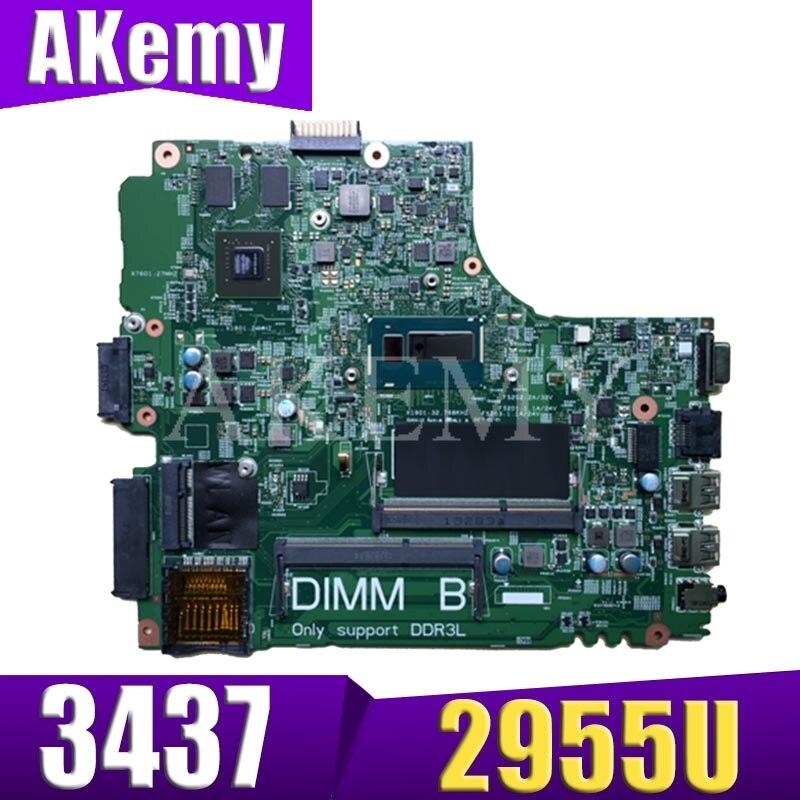 CN 0Y5JJK Y5JJK FOR Dell Inspiron 3437 5437 Laptop Motherboard DOE40 HSW 12314 1 PWB:VF0MH REV:A00 2955U 720M/1G mainboard|Motherboards| |  - title=