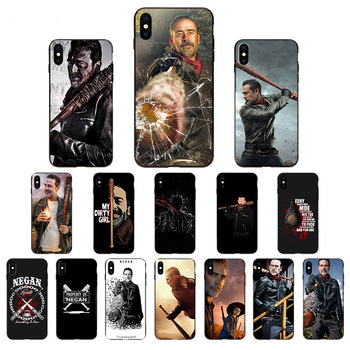 Hit TV Series Negan Jeffrey Dean Morgan For iPhone Cover 11 11Pro max 5 5S SE 2020 6 7 8 6s Plus X XR XS Max Soft Back TPU Cases image