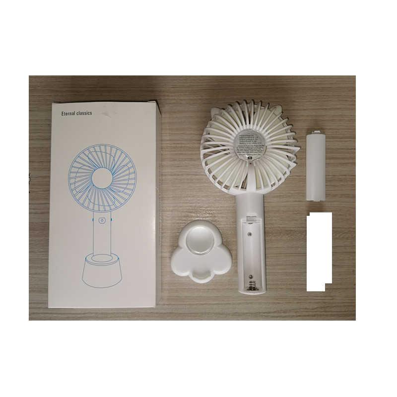 Mini ventilador USB, herramientas portátiles para exteriores, Enfriador de aire recargable, deporte, 3 engranajes, interruptor de enfriamiento, interruptor eléctrico portátil para amantes del verano