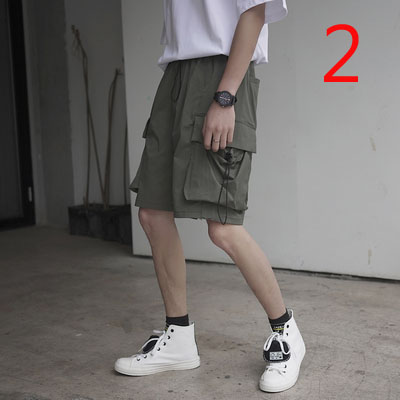 Shorts Men's Loose Thin Section Casual Pants Loose 2019 Summer Tide Brand Couple Models