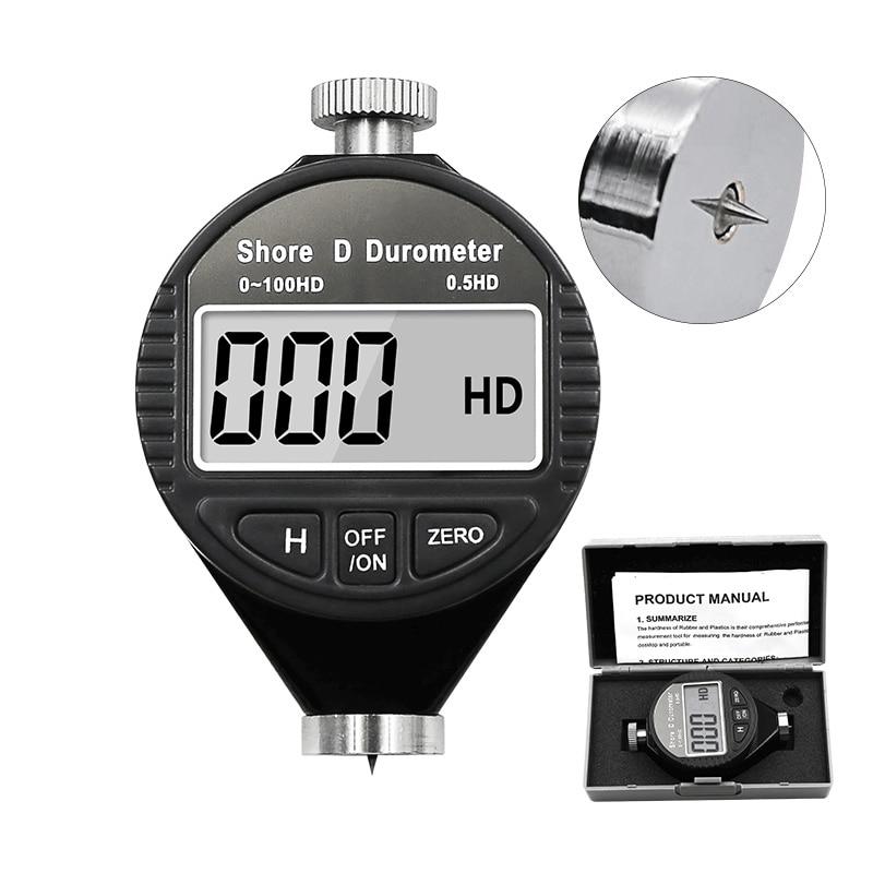 HA HD HC Digital Shore Durometer Sclerometer Rubber Hardness Tester Meter Paragraph