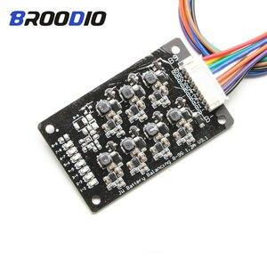 Image 1 - 8S BMS 1.2A 밸런스 리튬 이온 리포 Lifepo4 LTO 리튬 배터리 액티브 이퀄라이저 밸런서 에너지 전송 BMS 8S