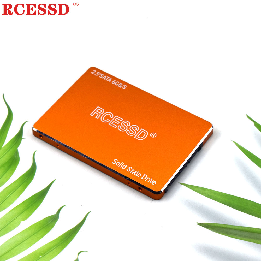 RCESSD 120GB 128GB 240GB SSD 2.5-inch Internal SATA SATA3 Hard Disk 360GB 480GB Solid State Drive SSD Metal Laptop 512GB 1TB