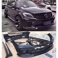 W166 FRP Unpainted Car Body Kit Front Bumper Rear Bumper For Mercedes Benz W166 ML300 ML350 ML400 ML500