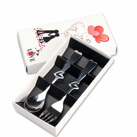 100sets 1set Is 2 Pc As Pic Wedding Favors and Gifts Tableware Set for Guests Wedding Gifts Souvenirs