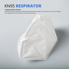 10 pcs KN95 Dustproof Anti-fog And Breathable Face Masks 95% Filtration N95 Masks Features as KF94 FFP2