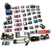 45 ב 1 חיישני מודולים Starter ערכת למידה חיישן ערכת עבור Arduino