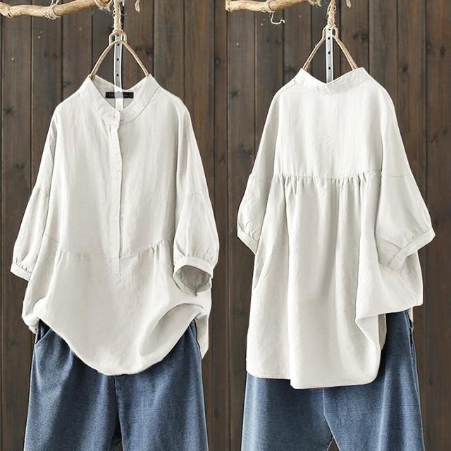 Summer Cotton Blouse  1