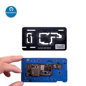 Image 1 - QianLiกลางReballingแพลตฟอร์มBGA Reballing Stencilเมนบอร์ดปลูกดีบุกแม่แบบสำหรับiPhone X XS XSMAX 11 Pro Max