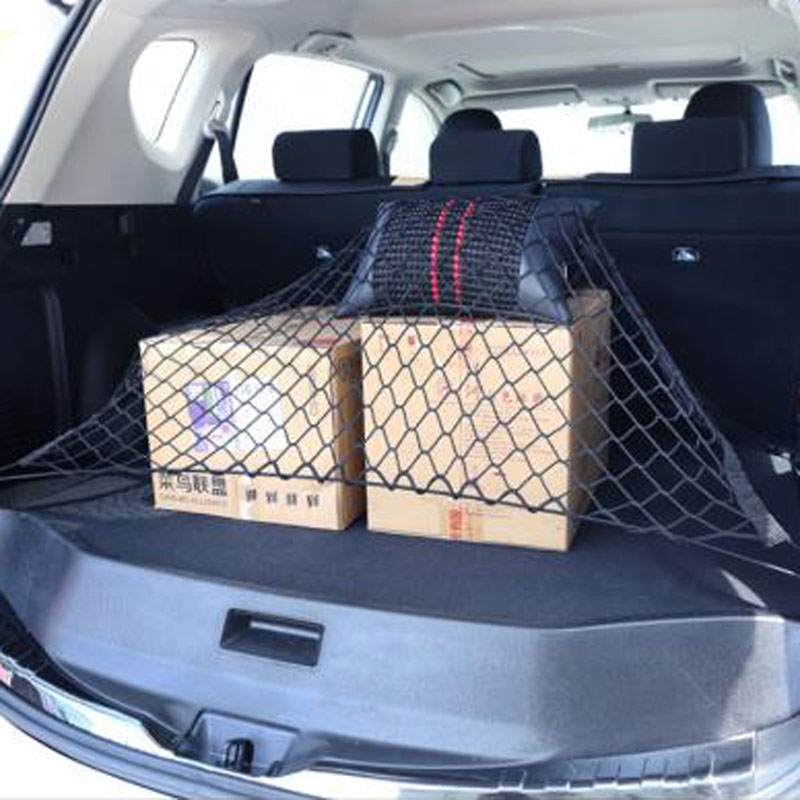 Car Trunk Nets <font><b>70</b></font> x <font><b>70</b></font> cm Elastic Strong Nylon for Mazda <font><b>2</b></font> 3 <font><b>5</b></font> 6 CX5 CX7 CX9 Atenza Axela image