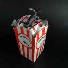 Halloween Product Bar KTV Horror Atmosphere Arrangement Props Simulation Mouse Spider Eyeball Popcorn Decoration
