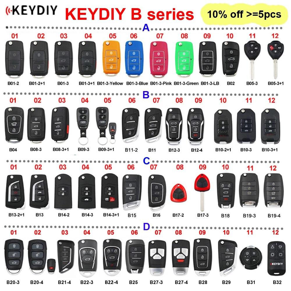 KEYDIY серии B B01 B02 B04 B05 B11 B12 B15 B16 B18 B21-4 B22-4 B25 B27 B28 B29 B31 B32 дистанционный пульт для KD900 KD-X2 мини KD
