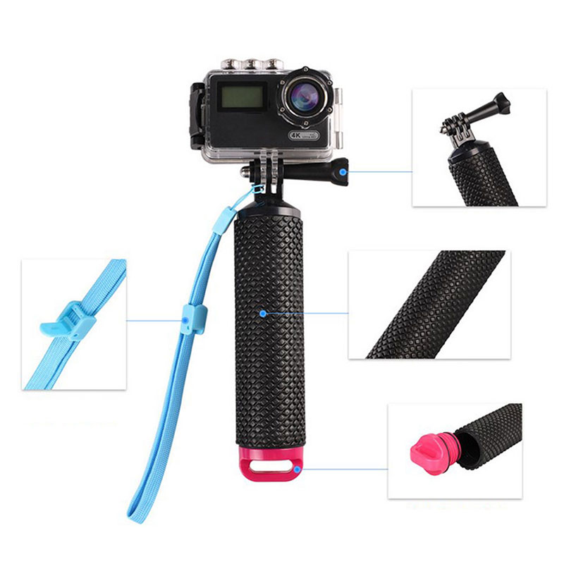 Water Floating Hand Grip Floating Handle Mount Accessories For Action Camera-3
