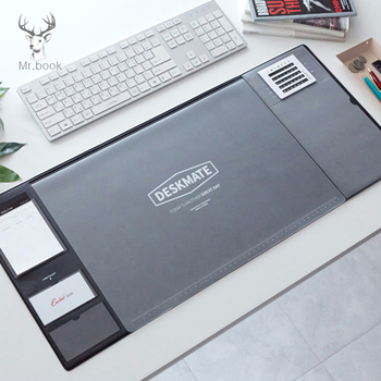 Large Office Computer Desk Mat Modern Table Waterproof PVC Laptop Cushion Desk Accessories & Organizer Desk Set with Calendar 1