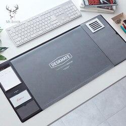 Большой Офисный Компьютерный Настольный коврик, современный водонепроницаемый стол из ПВХ, подушка для ноутбука, аксессуары и органайзер, ...