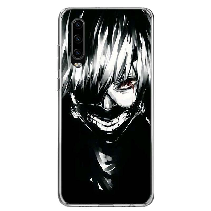 Anime Tokyo Ghoul Phone Case For Huawei P40 P30 P20 Mate 30 20 10 Pro P10 Lite P Smart Z + 2019 Gift Coque Cover Capa