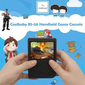 Image 4 - RS 50 Video Game Console Built in 500 Games Handheld Game Console Retro Tetris Nostalgic Gaming Player Best Gift for Child