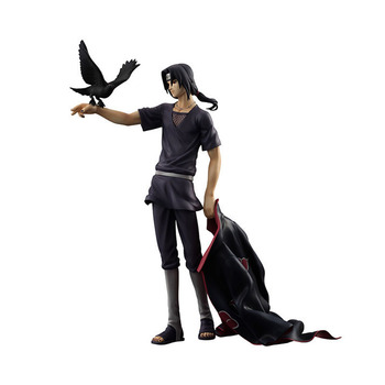 20cm Naruto Shippuden crow Sharingan Uchiha Itachi PVC Action Figurines Boruto Uncle Figure Collectible Model Toy Doll japanese anime naruto shippuden uchiha itachi statue pvc figure model figurals toy