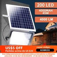 200LED Solar Licht Outdoor Fernbedienung Wasserdicht Für Garten Pfad Straße Landschaft Scheinwerfer Wand Solar Powered Flut Lampe