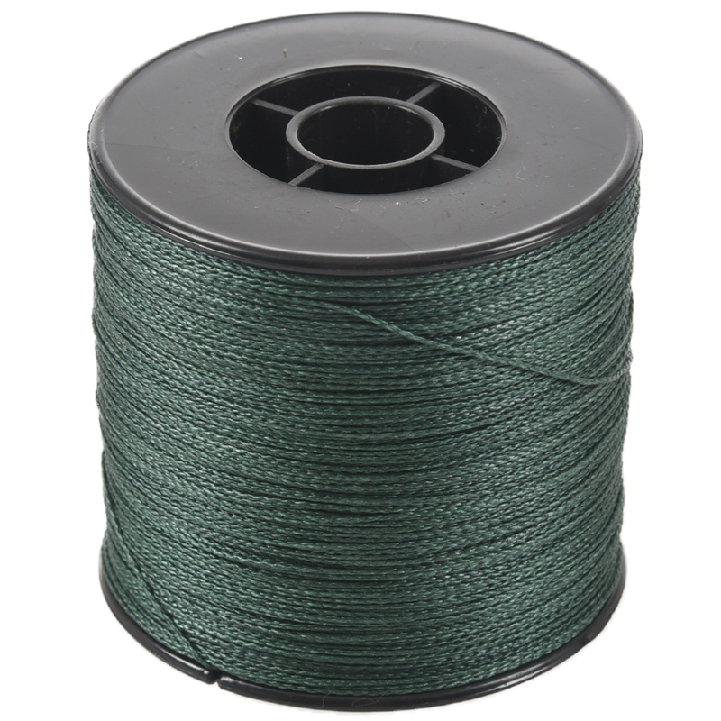 500M 100LB 0.5mm Super Strong Braided Fishing Line PE 4 Strands Color:Dark Green|Fishing Lines| |  - title=