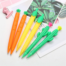 0.5mm Cactus Corn Mechanical Pencil Cute Carrot Automatic Drawing Pen School Office Writing Supplies Stationery цена