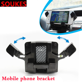 Deformation Car GPS Navigation Bracket For BMW E46 E39 X5 E53 X6 Mini Cooper Audi A4 B6 TT Ford Fiesta Kuga Dashboard Air outlet image
