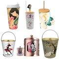 Оригинальные 2020 чашки для воды из мультфильма Disney MULAN, чашка для попкорна из мультфильма аниме, чашка для Принцессы Disney Mulan, рождественский п...