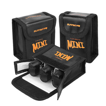 For DJI Mavic Mini Drone Lipo Battery Case Explosion-proof Safe Storage Bag Fireproof Protective Box Radiation Protection lipo battery fireproof safety bag battery charging protector carrying bag storage bag case hardshell box for dji mavic pro
