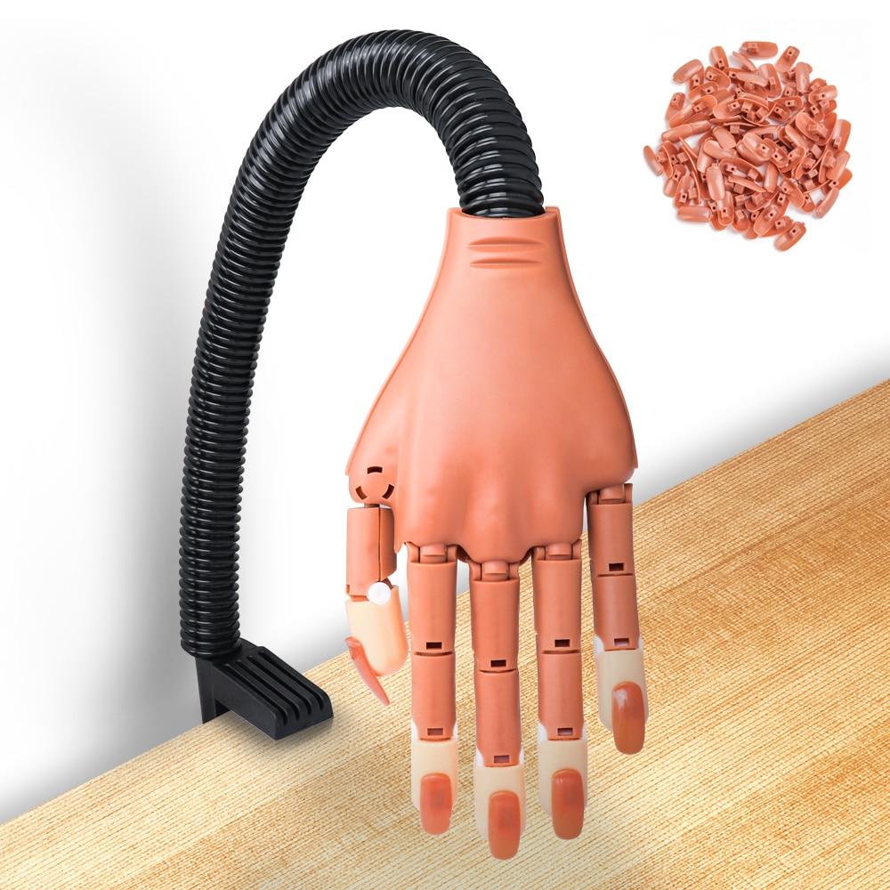 Купить практика рук с 100 шт акриловый фрезер для ногтей cо шлифовальными