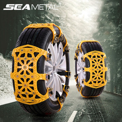 Winter Car Snow Chains Tire Anti-skid Wheel Tyre Auto Anti-Slip TPU Belt Anti Slip Tire Chain Car Spike for Wheel Snow Accessory