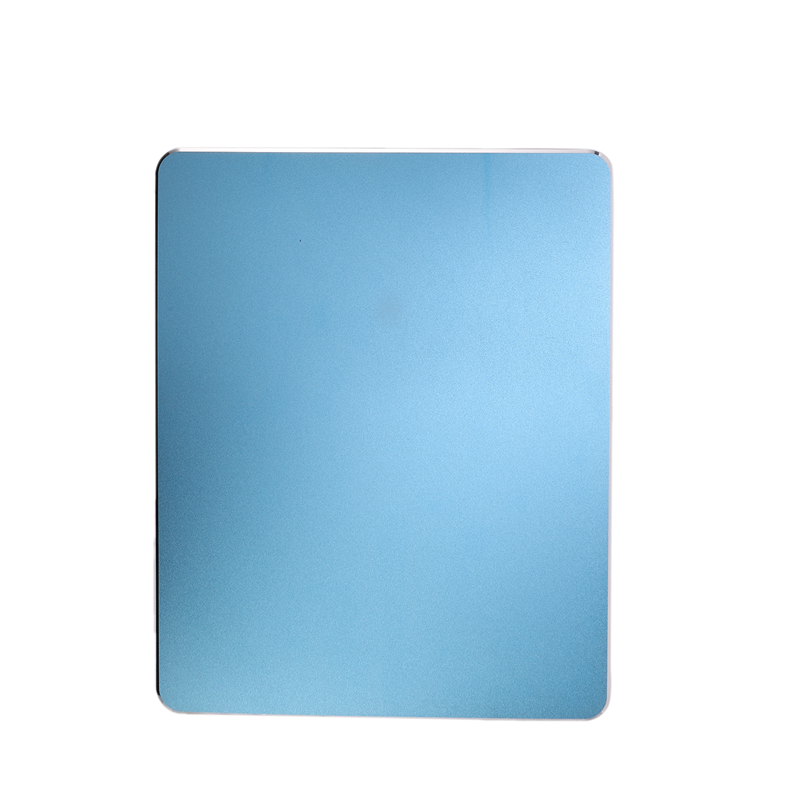 Metal Mouse Pad Aluminum Alloy Mouse Pad Super Thin Double-Sided Design Waterproof Mouse Pad