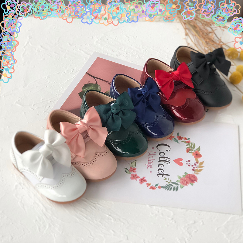Winter New Spanish Princess Quality Shoes Girls Boots Leather Shoes Toddler Girl Boots Winter Boots For Girls Little Girl Shoes