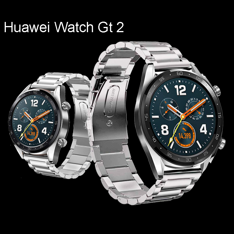Huawei Watch GT 2 Strap For Samsung Gear S3 Frontier Galaxy Watch 46mm Active 22mm Watch Band Milanese Loop Bracelet Huawei Gt