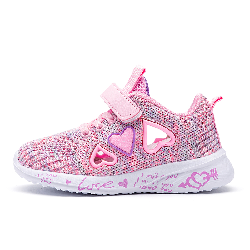 Children Mesh Casual Shoes Girl Sneakers Kids summer Sport Footwear Kids Shoes for Girl Light Shoes Cute Pink Flat Shoes autumn 5