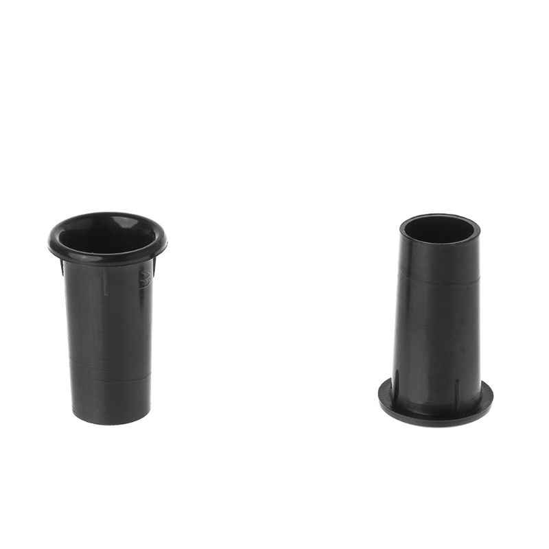 """2 piezas de altavoz Puerto tubo Bass Reflex Ventilación conector 2-3 """"18x37mm Subwoofer Woofer caja"""