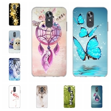 For LG Q Stylo 4 Stylus Case Soft TPU Silicone Cover Butterflies Pattern Plus Capa