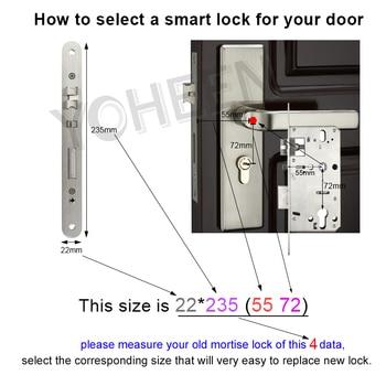 Biometrische Vingerafdruk Slot Wifi Smart Deurslot 4